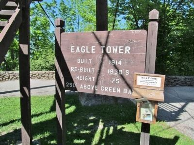 Eagle Tower Sign image. Click for full size.