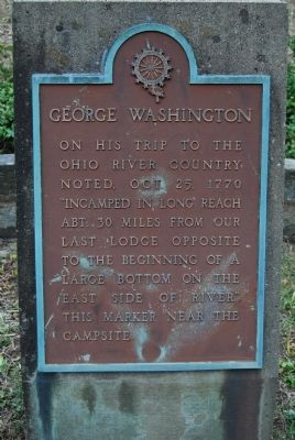 George Washington Marker image. Click for full size.