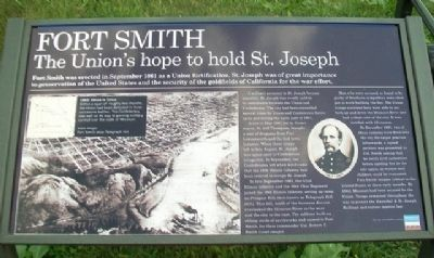 Fort Smith Marker image. Click for full size.