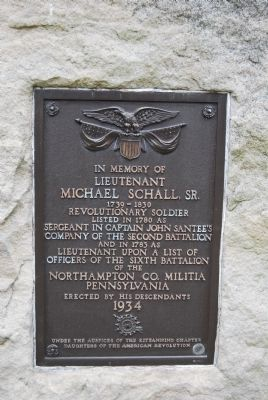 In Memory of Lieutenant Michael Schall, Sr. Marker image. Click for full size.