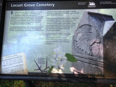 Locust Grove Cemetery Marker image. Click for full size.