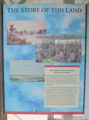 The Story of This Land Marker image. Click for full size.