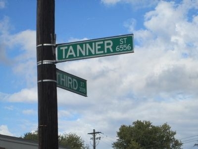 Tanner's Station 1789 Marker Site image. Click for full size.