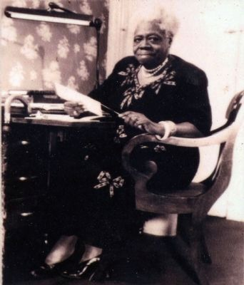 Mary McLeod Bethune image. Click for full size.