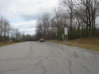 Eastward at the Rest Area, South Side of NY 37 image. Click for full size.