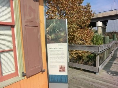 Choptank River Heritage Center-Steal Away by River Marker image. Click for full size.