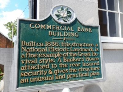 Commercial Bank Building Marker image. Click for full size.