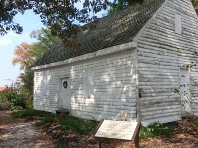 Tuckahoe Neck Meeting House image. Click for full size.