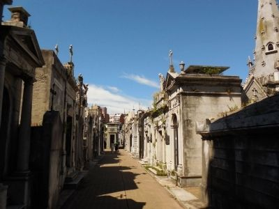 Cemetery tombs image. Click for full size.