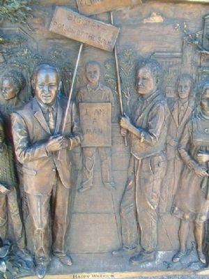 Hubert H. Humphrey Relief Panel image. Click for full size.
