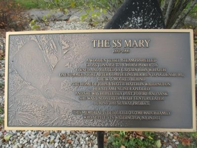 The SS Mary Marker image. Click for full size.