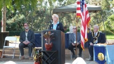 Costa Mesa City Councilwoman <br>Wendy Leese image. Click for full size.