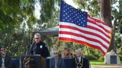 Costa Mesa Police Dept Chaplain <br>Mike Decker image. Click for full size.