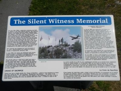 The Silent Witness Memorial Marker image. Click for full size.