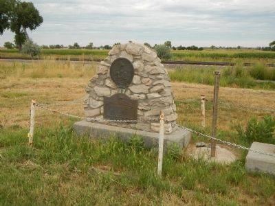 Chimney Rock Station Marker image. Click for full size.