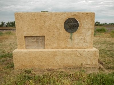 Ficklin Springs Pony Express Station Marker image. Click for full size.