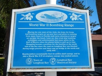 World War II Bombing Range Marker image. Click for full size.