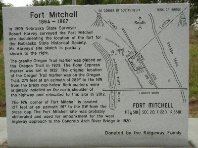 Fort Mitchell, 1864-1867 Marker image. Click for full size.