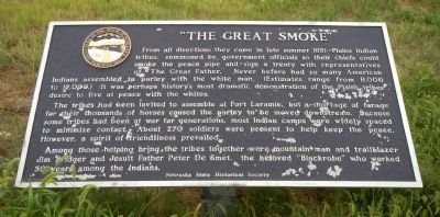 """The Great Smoke"" Marker image. Click for full size."