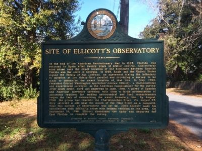 Site of Ellicott's Observatory Marker image. Click for full size.