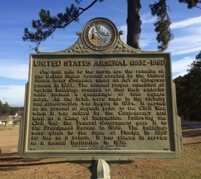 United States Arsenal Marker image. Click for full size.