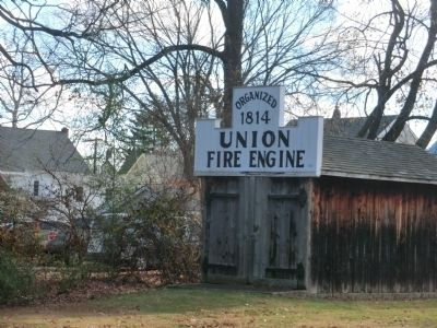 Union Fire Engine-organized 1814 image. Click for full size.