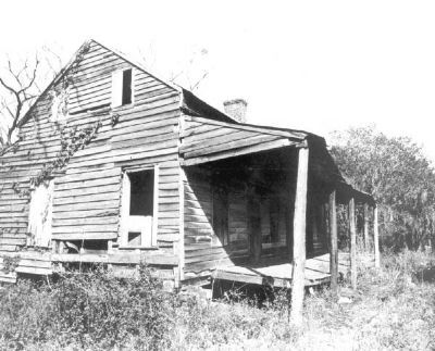 Previous condition before renovation. (Circa 1950's) image. Click for full size.