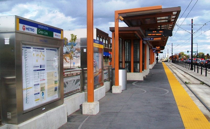 Dale Street Station and Marker
