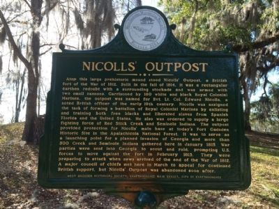 Nicolls' Outpost Marker image. Click for full size.
