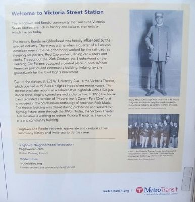 Welcome to Victoria Street Station Marker image. Click for full size.