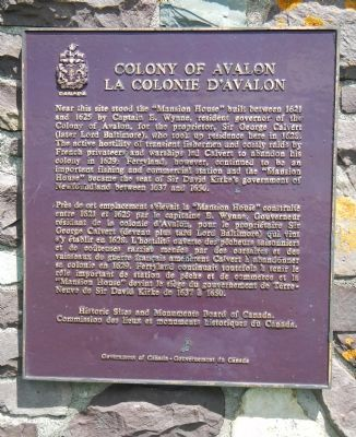 Colony of Avalon Marker image. Click for full size.