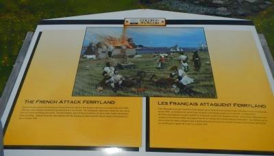 The French Attack Ferryland Marker image. Click for full size.