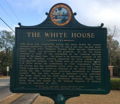 The White House Marker image. Click for full size.