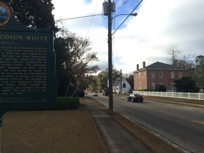 Looking West from marker on King Street image. Click for full size.