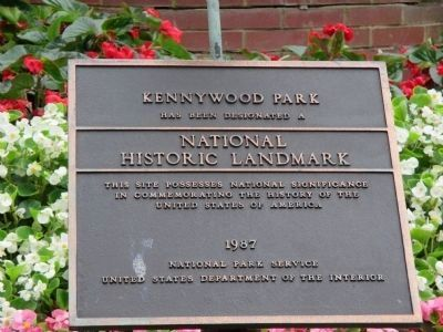 Kennywood Park National Landmark Plaque image. Click for full size.