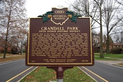 Crandall Park Marker image. Click for full size.
