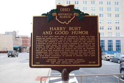 Harry Burt and Good Humor Marker image. Click for full size.