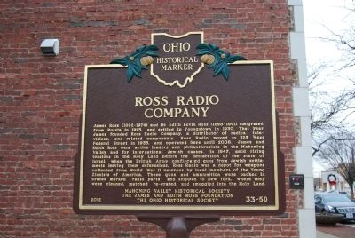 Ross Radio Company Marker image. Click for full size.