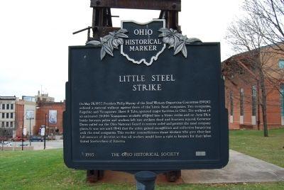 Little Steel Strike Marker image. Click for full size.