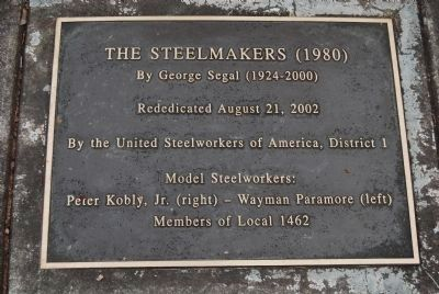 The Steelmakers (1980) image. Click for full size.
