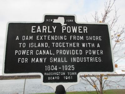 Early Power Marker image. Click for full size.