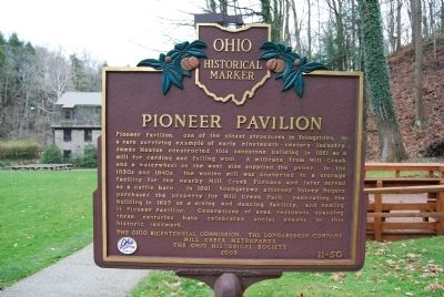 Pioneer Pavilion Marker image. Click for full size.