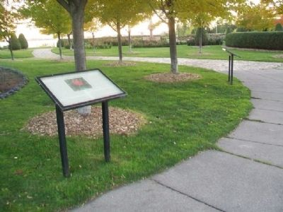 The History of the Duluth Rose Garden Marker image. Click for full size.