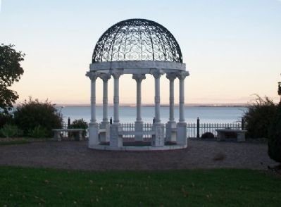 Duluth Rose Garden Gazebo image. Click for full size.