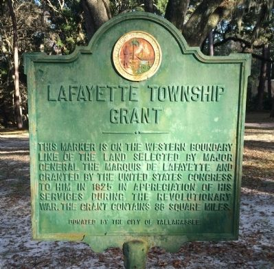 Lafayette Township Grant Marker image. Click for full size.
