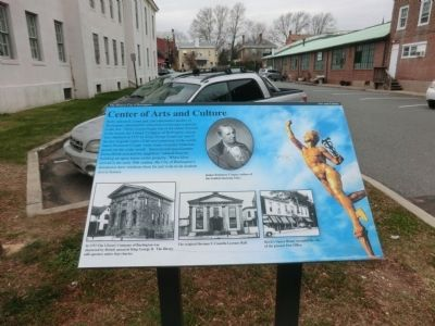 Center of Arts and Culture Marker image. Click for full size.