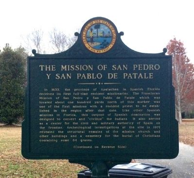 The Mission of San Pedro y San Pablo de Patale Marker image. Click for full size.