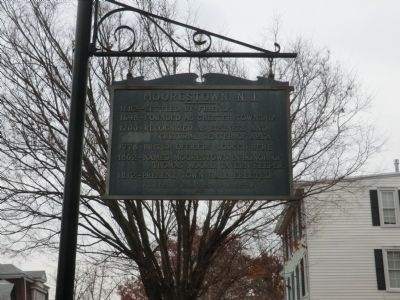 Moorestown, N.J. Marker image. Click for full size.
