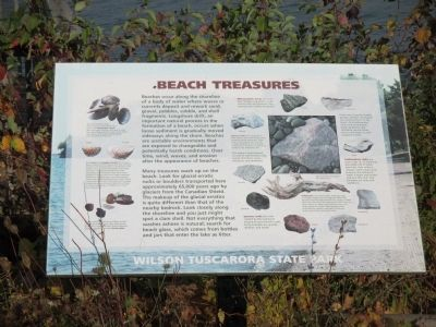 Beach Treasures Marker image. Click for full size.