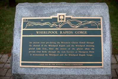 Whirlpool Rapids Gorge Marker image. Click for full size.